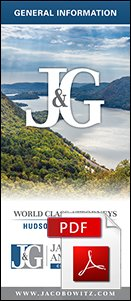 A brochure to provide general information about the law firm Jacobowitz & Gubits, LLP in Walden, NY
