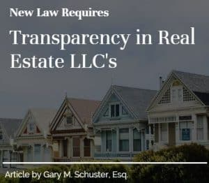 New law requires transparency in real estate LLCs